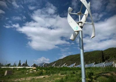 VisionAIR 3 - Duth's university campus XANTI - 2017 -wind turbine - VAWT - renewable energy - cleantech - zazemli
