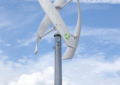 VisionAIR 5 - Maggie L. Walker Governor's School Richmond - 2016 -wind turbine - VAWT - renewable energy - cleantech - zazemli
